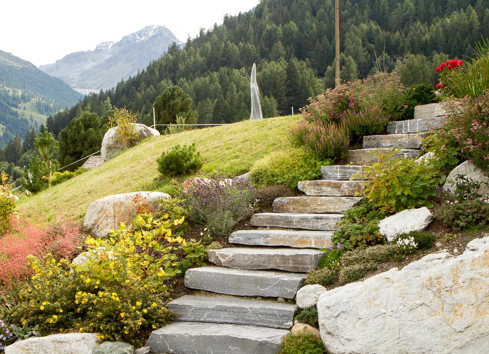 Jardin Alpin sàrl - paysagistes - Gartengestaltung